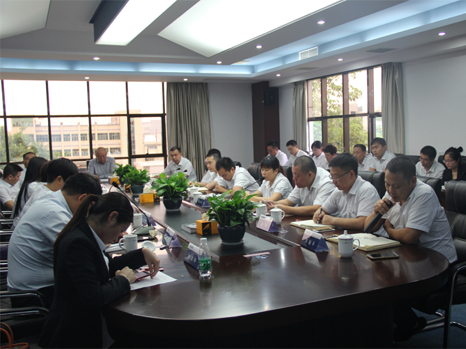 The 2017 semi-annual work summary meeting of Hongwang Group