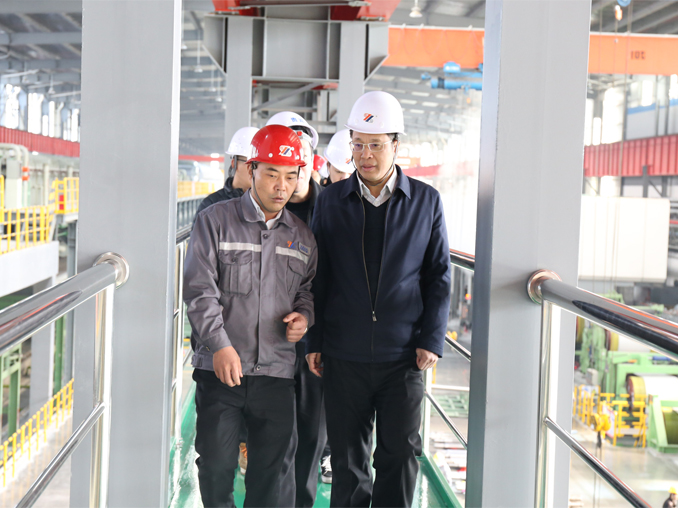 Mr. Xiwen Guo , the Deputy Secretary of Ningde Municipal Party Committee and the Mayor of Ningde City visited Fujian Hongwang